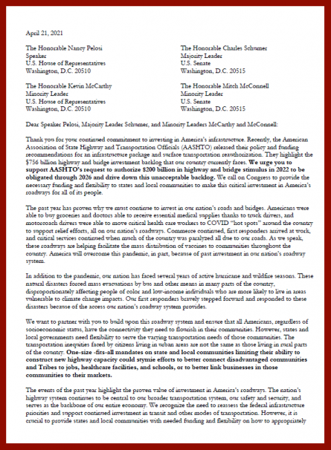 ACPA Network Join Broad Stakeholder Group in Letter to Congressional Leaders
