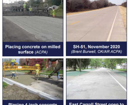 CP Tech Center Announces Flyers on Concrete Overlay Projects