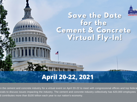 Save the Date for the Cement & Concrete Industry Virtual Fly-In