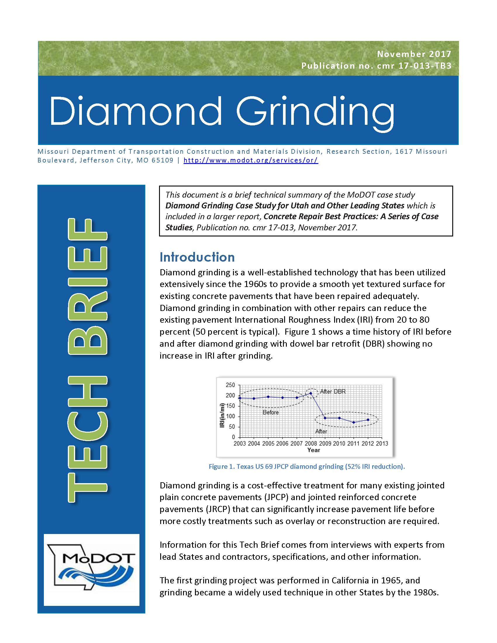 Diamond Grinding