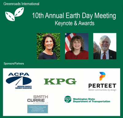 Greenroads Announces 10th Annual Earth Day Meeting