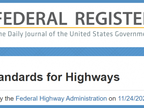 ACPA Responds to FHWA Notice of Proposed Rulemaking