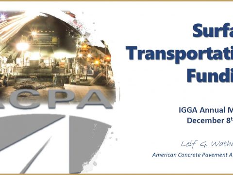 ACPA Presents Information on Surface Transportation Funding