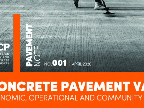 Report Cites Superior Features of Concrete Pavements