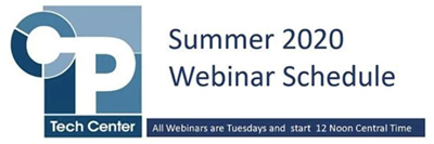 Summer Webinars Continue