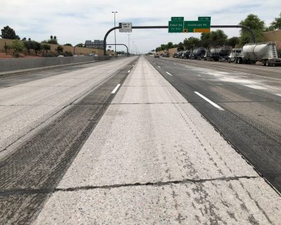 Diamond Grinding Begins on Arizona Freeway