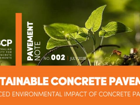 Fact Sheet Describes Concrete Pavements' Reduced Environmental Impact