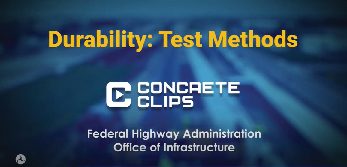 Concrete Clips: Durability Test Methods