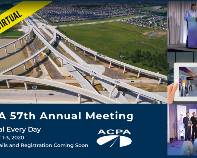 ACPA's 57th Annual Meeting is Going Virtual