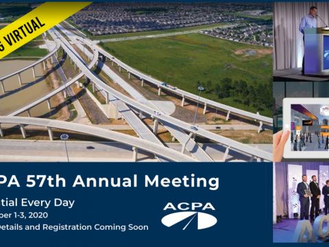 ACPA's 57th Annual Meeting is Going Virtual