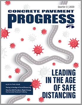 Read the Latest Concrete Pavement Progress