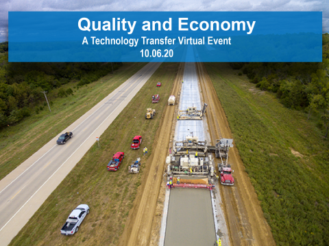 Tech Transfer Event Focuses on Concrete Pavement Quality and Value