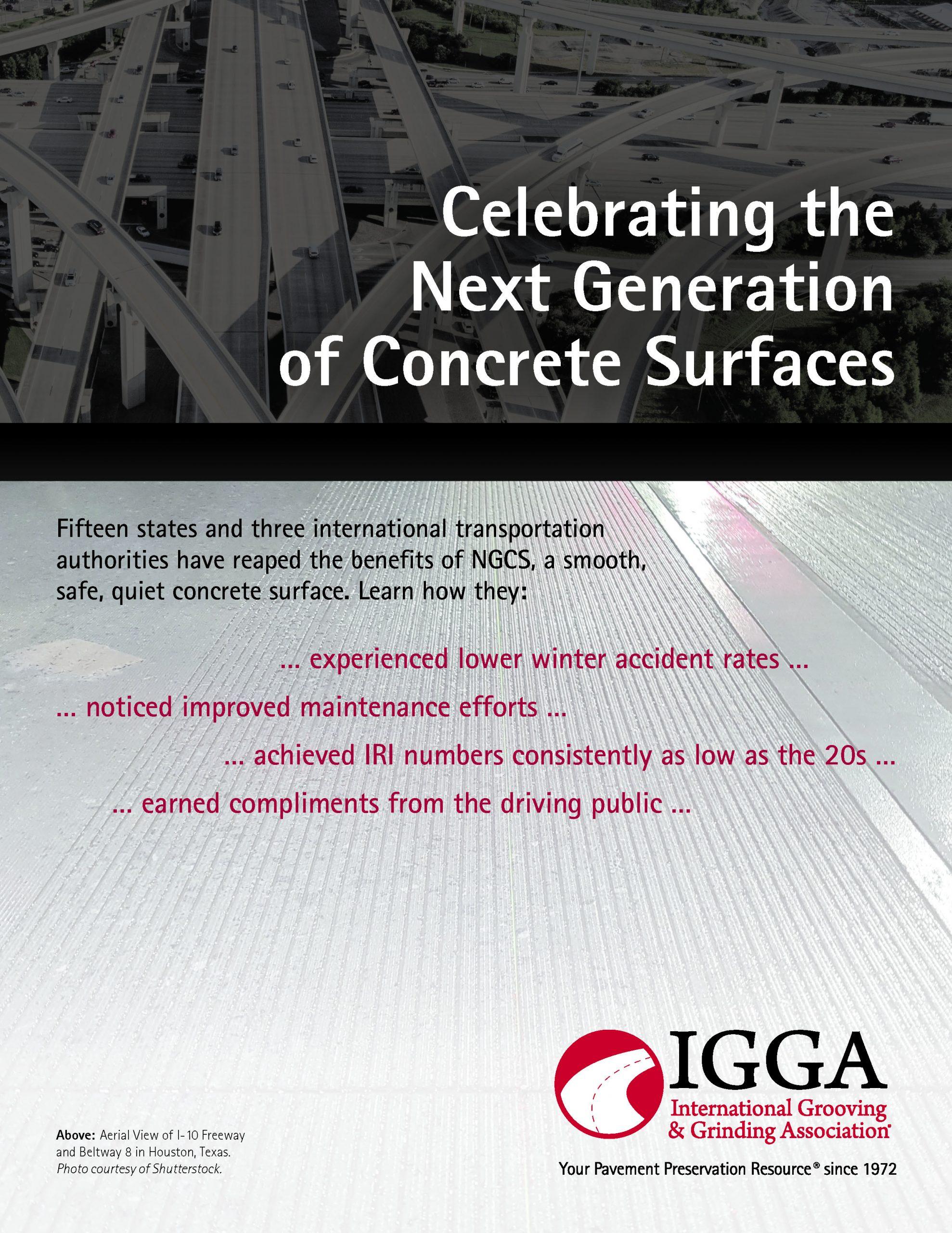 Next Generation Concrete Surfaces