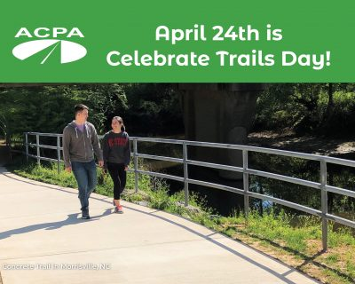 Events This Week Reflect ACPA's Commitment to the Environment