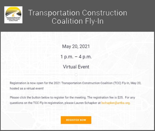 Register Today for the TCC Legislative Fly-In