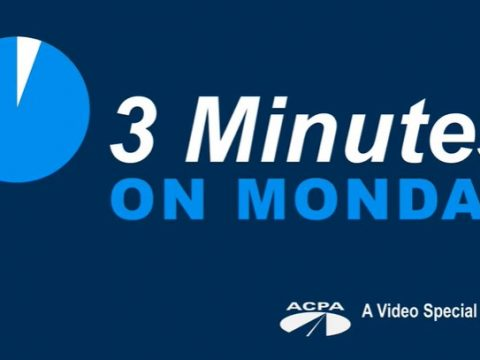 View Our Latest '3 Minutes on Monday' Vlogs