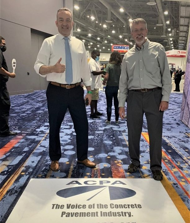 ACPA Exhibits at World of Concrete