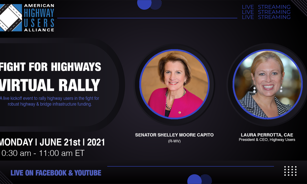 """ACPA Joins AHUA's """"Fight For Highways"""" Virtual Rally"""