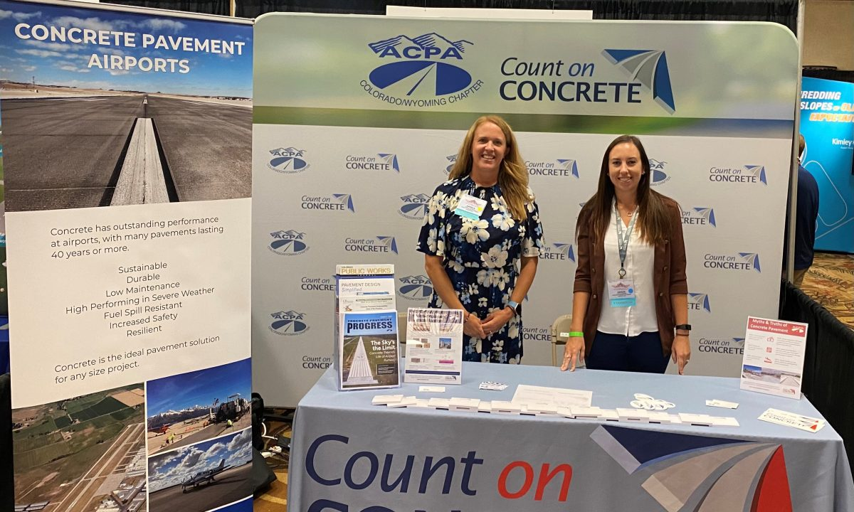ACPA Exhibits at National Airport Conference