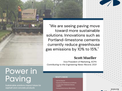 Construction Publication Features ACPA on the Sustainability of Concrete Paving